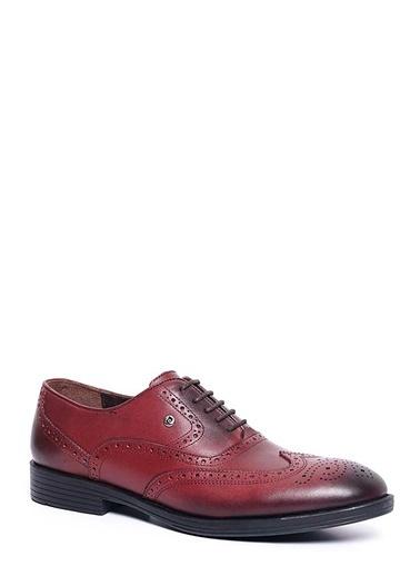 Pierre Cardin Bağcıklı Klasik Ayakkabı Bordo